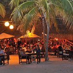 MooMba Beach... dining on the beach with ocean view during sunset