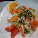 Salade Vietnamienne au Crabe et Surimi
