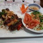Brochettes Saïgon - crevettes enrobées de bœuf