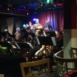 The 17 piece orchestra