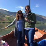 My daughter and Catia on our Douro River cruise.