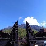 Photo of Mount Agung