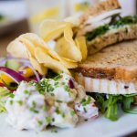 We do a great selection of sandwiches plus a children's menu for little ones
