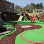 Our games garden will help to keep the kids entertained while you take refreshments outside