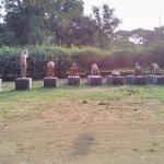 Surya Namasskar Statues