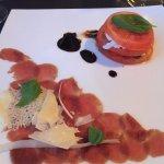 Seared Ostrich Carpaccio - double yum
