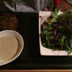 Ostrich Burger, Pepper Sauce
