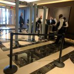 Security set up when Egyptian President stays in the Four Seasons