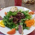 Très belle salade du gers