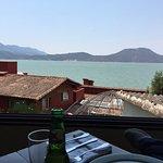 Nice view, good food and atmosphere.