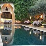 Photo de La Villa des Orangers - Restaurant