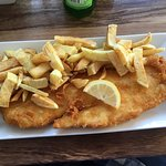 Jumbo cod and chips