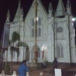 Front View of the New Church (Late evening )