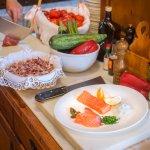 preparación plato