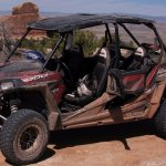 The 4-seat RzR we used on our tour with High Point Hummer