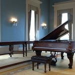 Attend a Sunday recital to hear this restored 1878 Steinway Centennial Style Concert Grand.