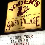 Great Amish food and village!