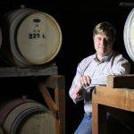Second generation vintner Steven Burgess.
