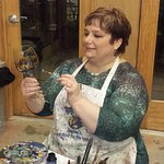 Paint your own wine glasses, vases and more!