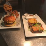 Roast Belly Pork and a Classic Burger