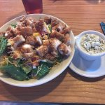 Fried Chicken Cobb Salad w/Bleu Cheese