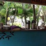 Coffee and toast bar