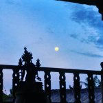 Fll Moon from our Yoga Shala