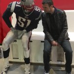 A hoot at the Patriot Place