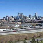 Nice views of Denver from the stadium