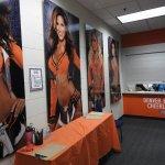 Women's Locker Rm for the Cheerleaders