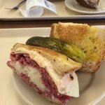 Reuben, it comes with a pickle