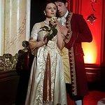 The soprano and baritone