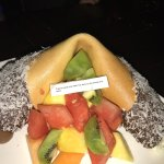 $25 giant fortune cookie dessert