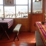 Vistas desde la cafetería de Pappa Cusco.