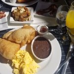 Delicious Belizean breakfast
