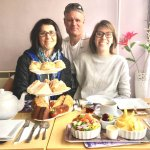 Elegant, ample & sumptuous tea at Mary's Rest Tearoom & Cafe