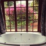 Spa bath in Honeymoon Suite