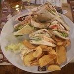 Zuper club sandwich