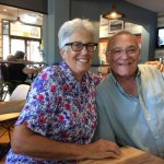 National Seniors Aust. Members. Rita and VINCE Lewis.