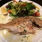 The best baked snapper I have ever enjoyed