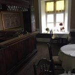 The upstairs bar for receptions/events