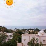 Terrasse - ciel un peu couvert donc rajout du soleil