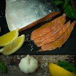 saumon mariné
