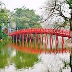 EVENING IS BEAUTIFUL AT HOAN KIEM LAKE,HANOI