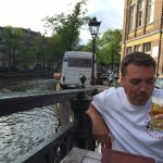 what better way to celebrate a birthday - beer by the canal