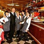Family who Owns and Operates -Trattoria da Primo e Paolo in Burano, Italy - Photo: DeCiccophoto.