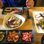 Our fantastic lunch at Umezushi!