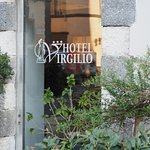 Outside the Hotel Virgilio