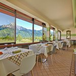 Panoramic terrace, for restaurant and breakfast.