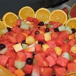 Healthy and Fresh fruit salad